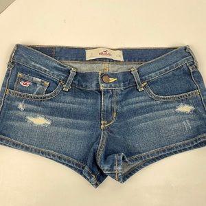 Hollister Denim Distressed Shorts